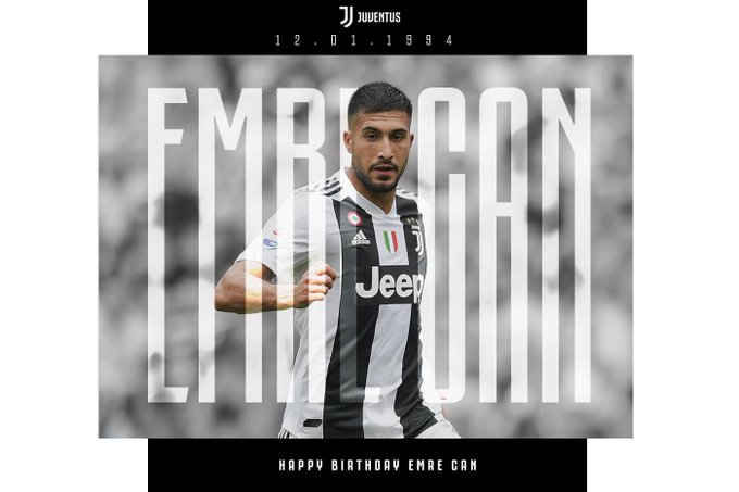 Event:Happy birthday, Emre Can!: Our number 23 celebrates his 25th birthday today