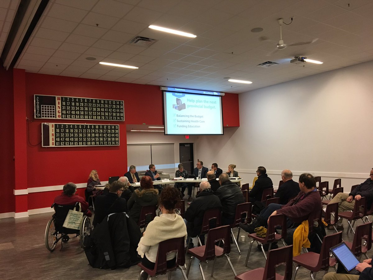 test Twitter Media - Hearing thoughtful suggestions and views at our Winnipeg West Budget Consultation that will help us as we prepare for #Budget2019. #mbpoli https://t.co/oXTSTGJ7Yp