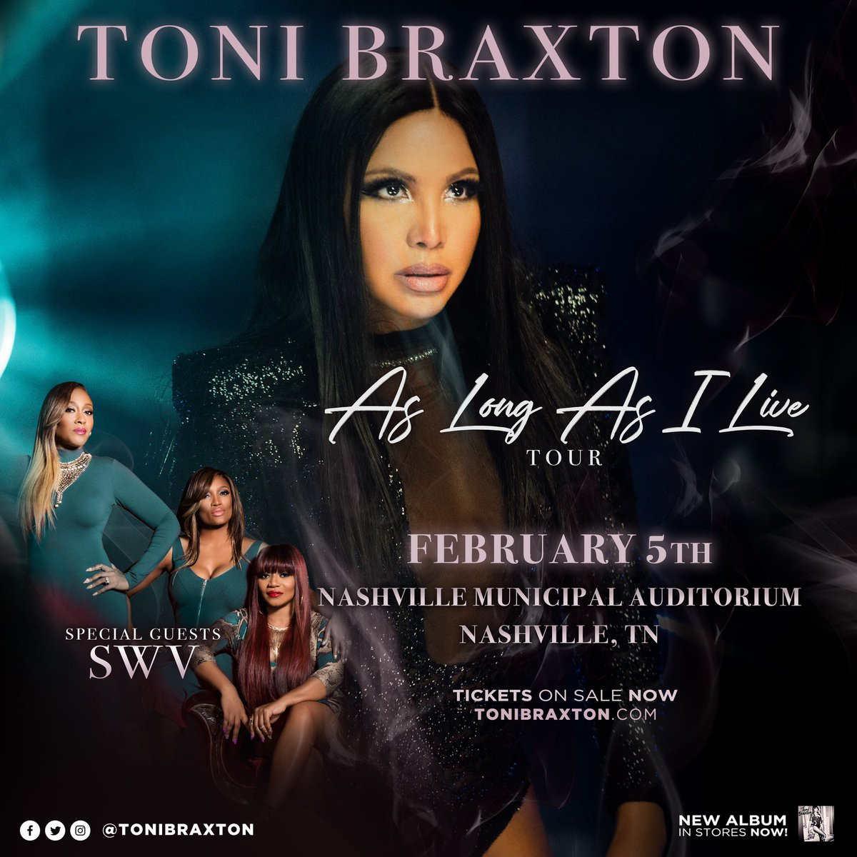 NASHVILLE, TN! Tickets are still available, so don't miss out! ????https://t.co/Tf0JyD1XKh #AsLongAsILiveTour https://t.co/m0dCUbkZU3