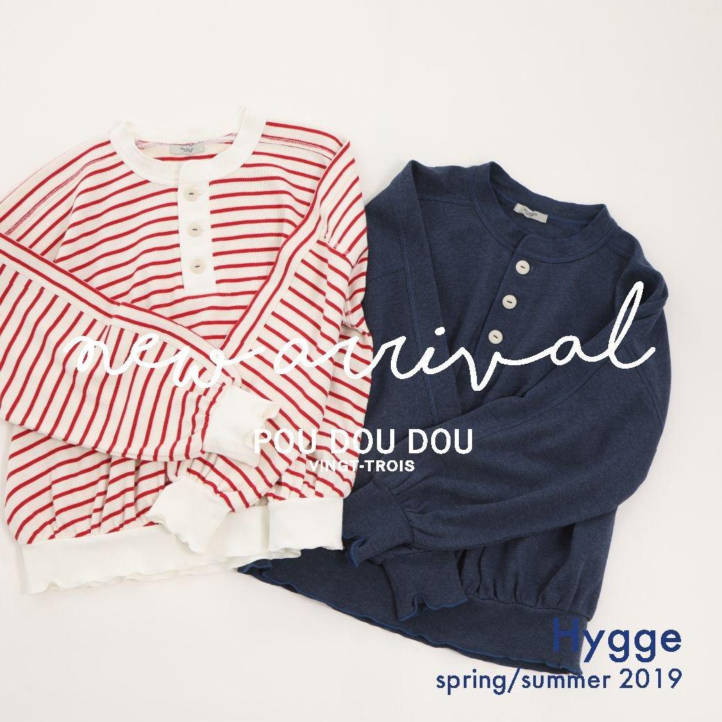 【NEW ARRIVAL】spring 2019  Hygge @poudoudouBLOG   https://t.co/QsfFPPLcxC https://t.co/sFQdtGuXBT