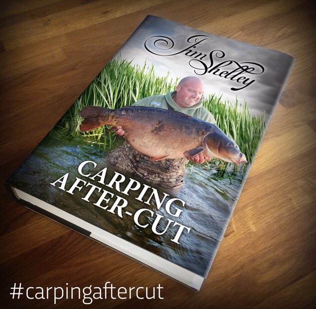 Signed copies of my new book #<b>Carpingaftercut</b> from the link #carpfishing  https://t.co/hGR476