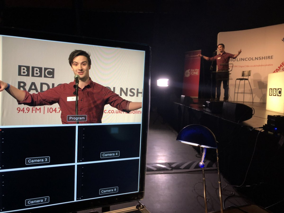 test Twitter Media - Queuing crowds @BBCRadioLincs talent contest #BeTheOne and having their one minute of fame in front of the judges and our cameras. https://t.co/aWmMPt9Lbv