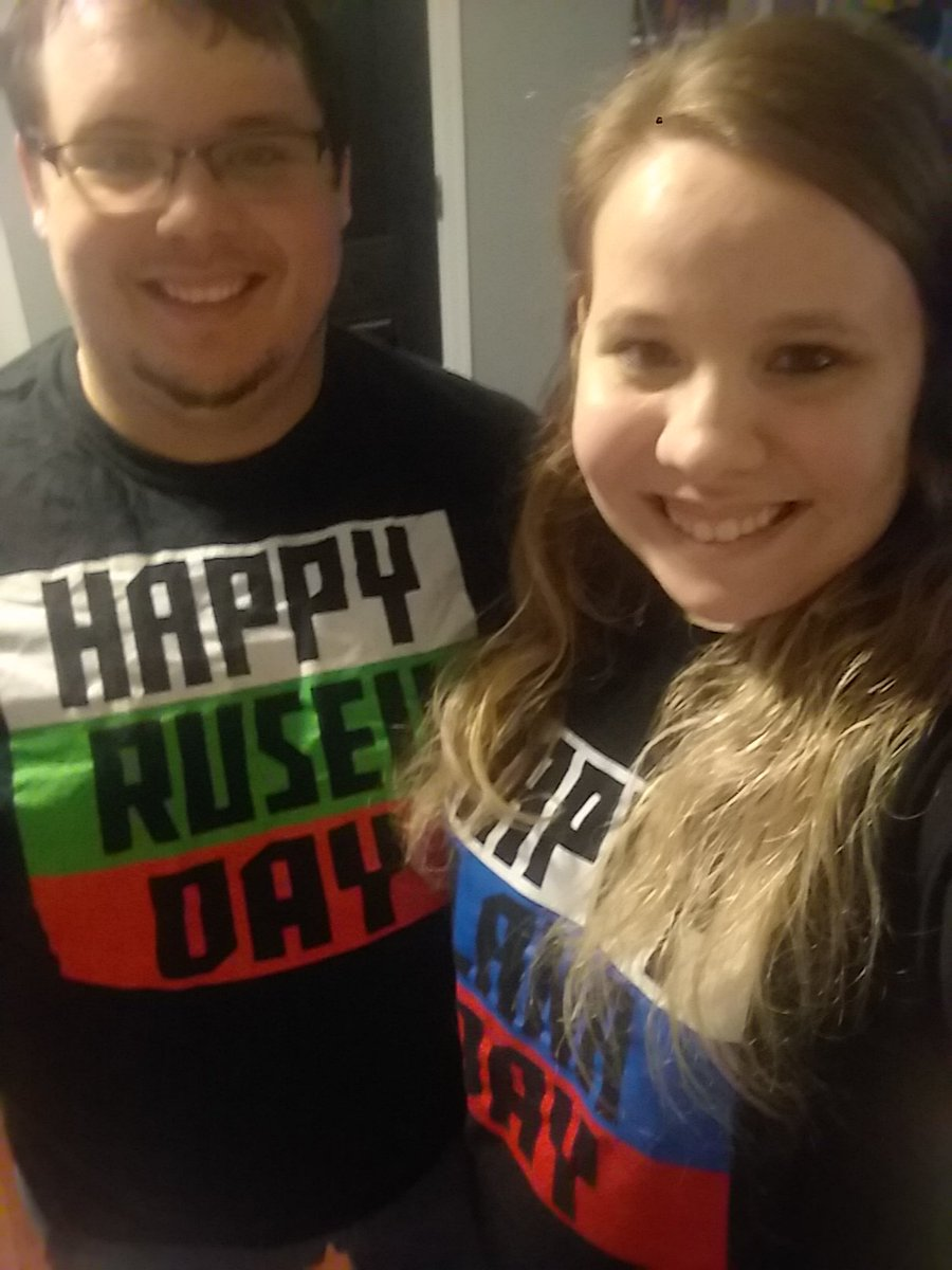 RT @Megss2010: Husband and wife ready to see the best married couple of WWE @LanaWWE @RusevBUL https://t.co/Y9Yvm1vYdN