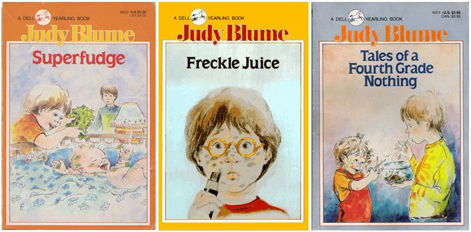 RICHIE: Happy 81st birthday to Judy Blume! How many of her books did YOU read???