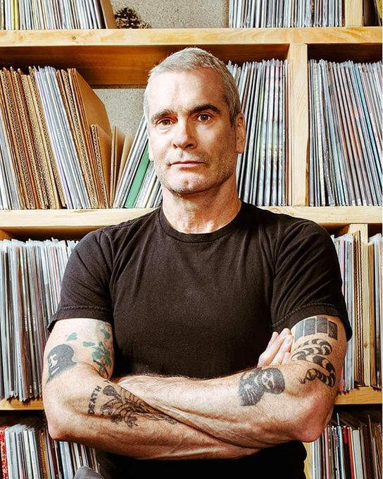 Happy 58th birthday uncle Henry Rollins!.