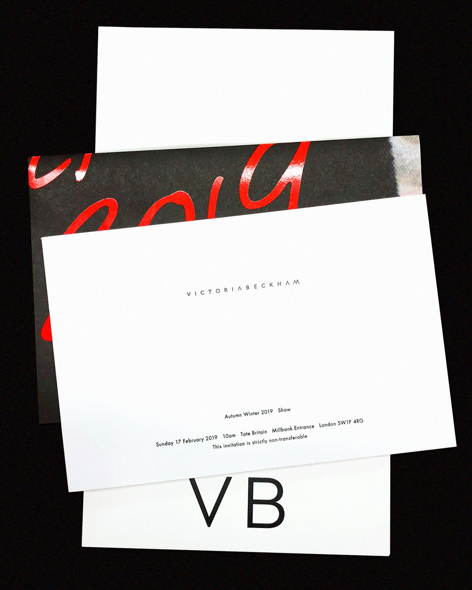 It's in the detail. 2 days to go. #VBAW19 #LFW x VB https://t.co/9lSrFJ4SUf