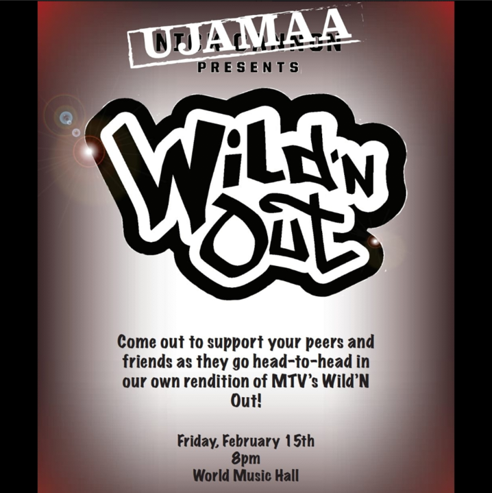 "test Twitter Media - Since 2005 @nickcannon has blessed us with this show and now it's time to bring it to Wesleyan. Join #Ujamaa tonight for a rendition of ""Wild'n Out Night"" and good laughs @ 8pm in World Music Hall! 🎤 💫 #BlackHistoryMonth https://t.co/6pomSMzVdr"
