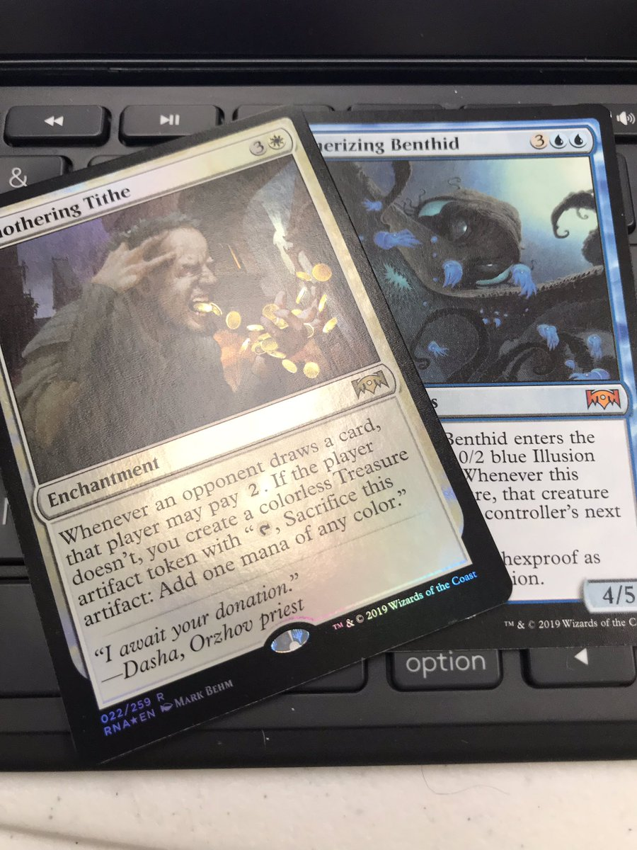 test Twitter Media - Not a bad pack :)  #MTG #EDH #CMDR https://t.co/FCUey93nLH