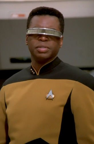 Happy birthday levar burton. i would NOT be a trek fan today if not for him (and michael dorn).