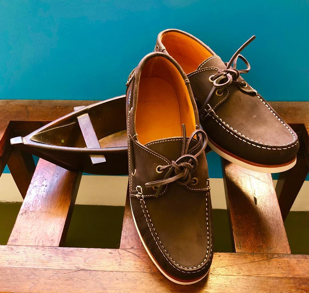 Get on board with our new season boat shoes, as shown by @mrjhackett https://t.co/UYhptD5zt0 https://t.co/0ragkwqH0A