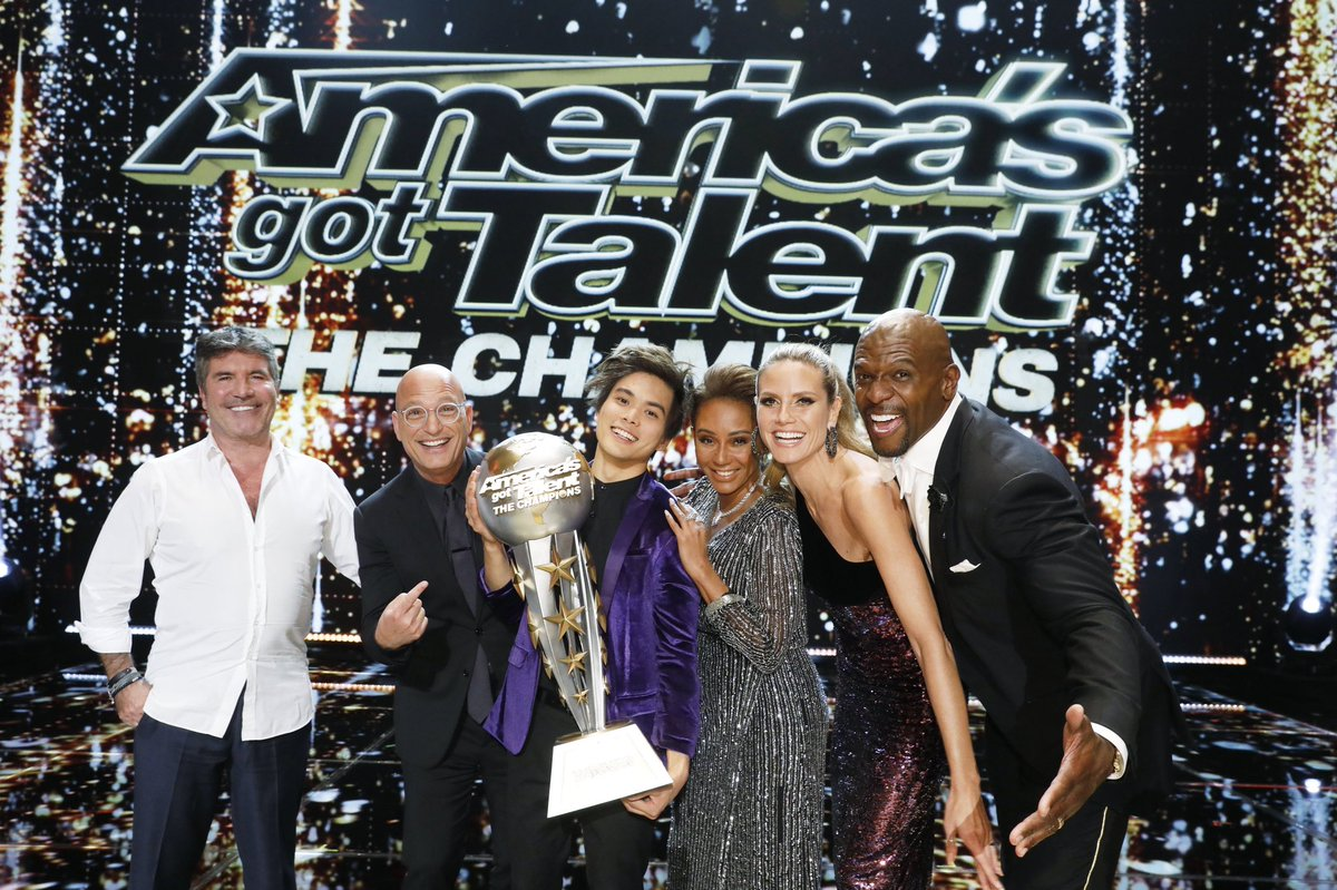 Congratulations @ShinLimMagic on becoming the first ever #AGTChampions winner! Your @AGT family is so proud of you ???? https://t.co/qbDzQwAlE6