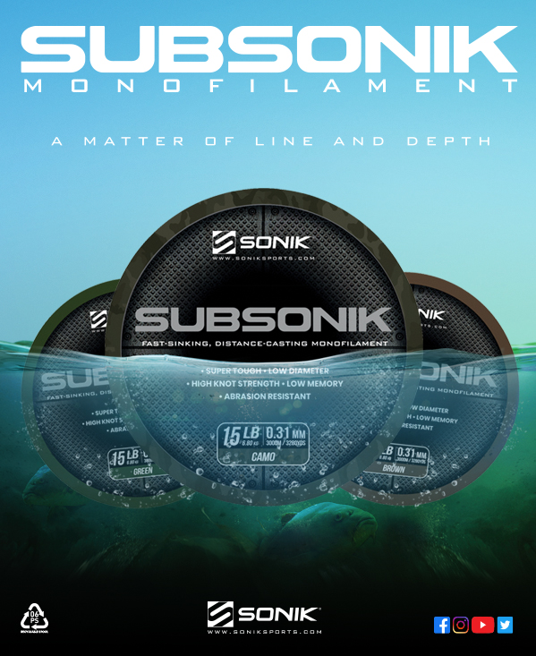 Have you tried it yet? #Sonik #Subsonik #Xtractor #Carpy #Distancecasting #Brown #Green #Camo #Carpf