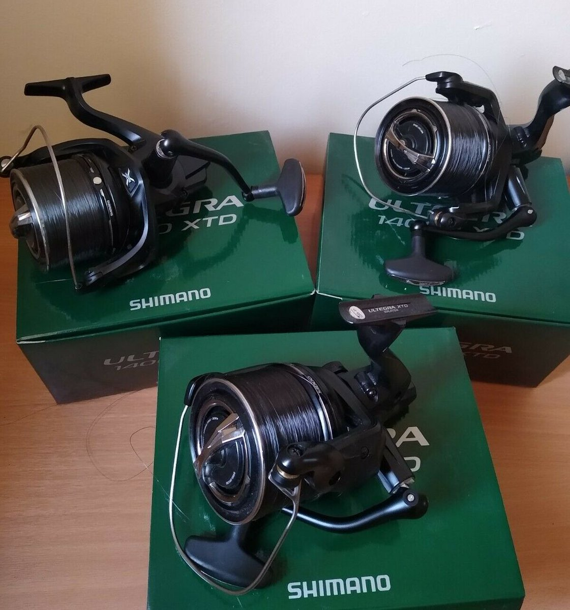 Ad - Shimano Ultegra 14000 XT-D x3 On eBay here -->> https://t.co/XLx6NssYeg  #carpfishing #fi