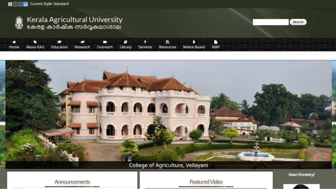 test Twitter Media - MBA (Agri-Business Management) at Kerala Agricultural University; Apply by June 5 https://t.co/4wTj5VEZxY #Admissions https://t.co/8ogvL9UKN4