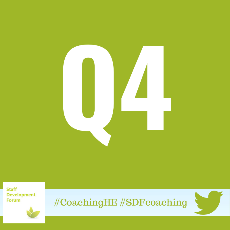 test Twitter Media - Q4) What other improvement or change activities could benefit from a coaching approach? How would a coaching approach help? Remember adding the hash-tags #CoachingHE #SDFcoaching https://t.co/spVOjYZFmr