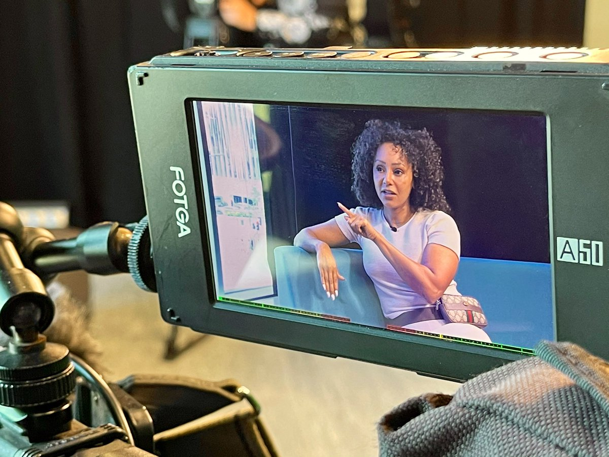 test Twitter Media - On @itvcalendar tonight at 6 @emmawilkitv spent the day with  @OfficialMelB in her home city of Leeds, as she launched a new @womensaid poster campaign. She chatted with students from @leedscitycoll who helped her put the first posters up in toilet cubicles. https://t.co/xHW3dK7DU9