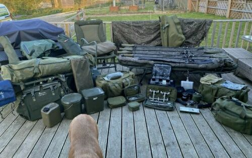 Ad - Carp Fishing Complete Set Up For Sale On eBay here -->> https://t.co/nMGLXSYXRs  #carpfis