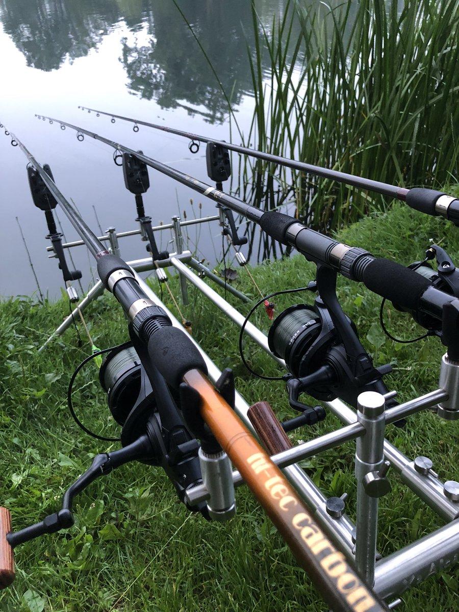 Rods are in. Fingers crossed . 🤞🏻🤞🏻 #fishing #carp #carpfishing #<b>Karpervissen</b> #ka