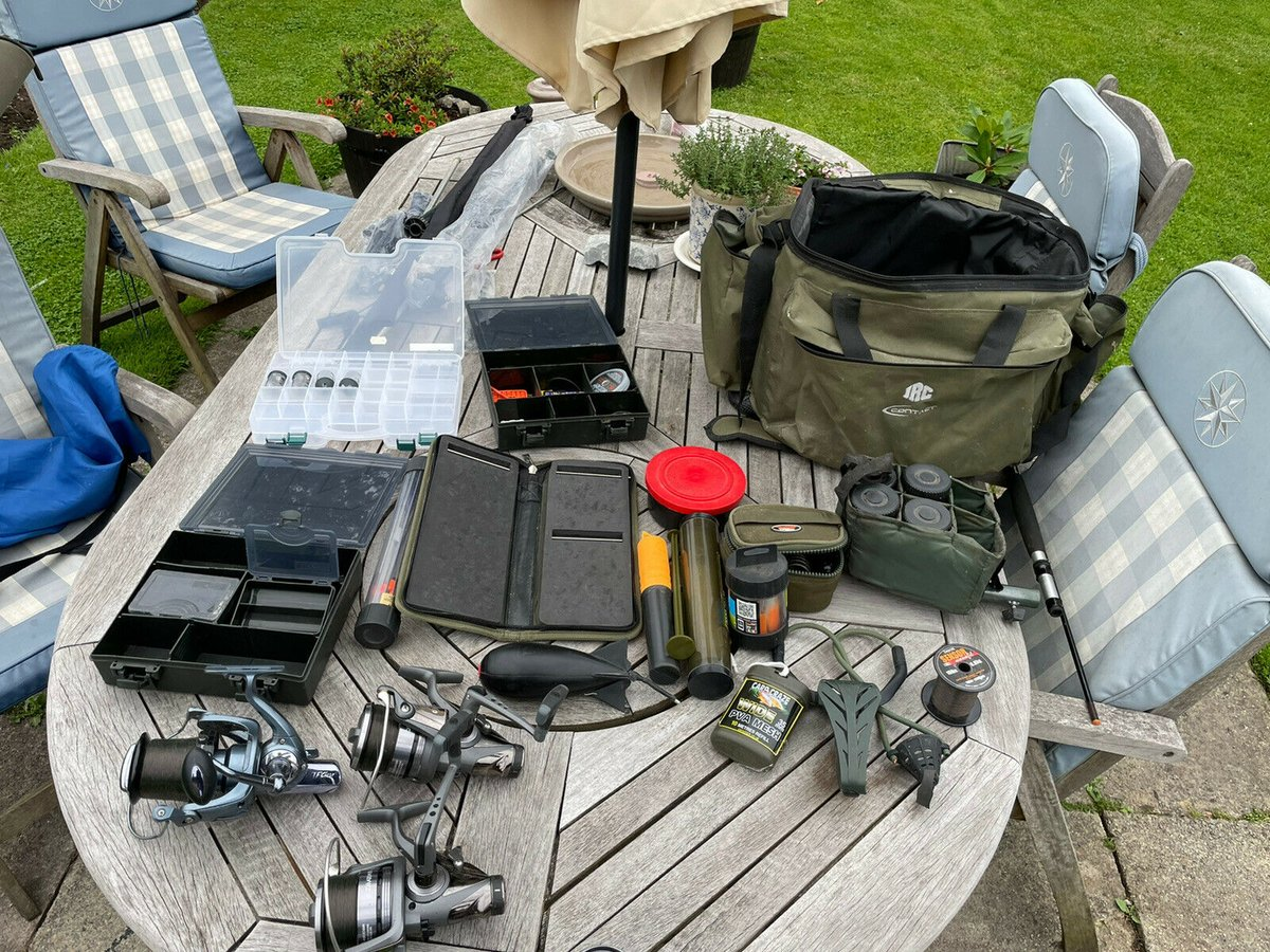 Ad - Complete carp set-up for <b>Sale</b> On eBay here -->> https://t.co/IC5ur27S5h  #carpfish