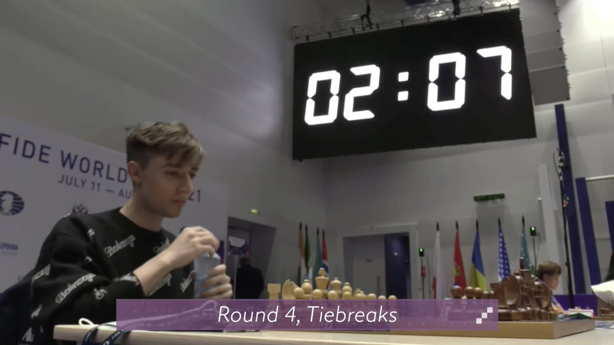 test Twitter Media - The #FIDEWorldCup Round 4 tiebreaks are about to begin! https://t.co/KaU5Qxdq1f  #c24live https://t.co/RLV2e7JO9D