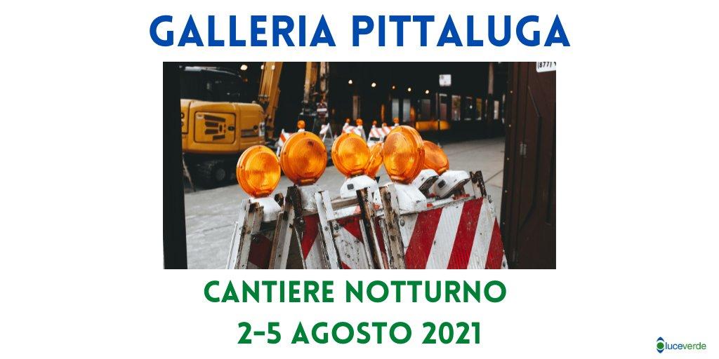test Twitter Media - 🚧 Lavori alla Galleria Pittaluga  ⛔La galleria sarà chiusa al transito tra via di Portonaccio e l'allacciamento con la Tangenziale Est <-->  📆 02/08 - 05/08/2021 ⏲️ 22:00 - 06:00  🔎ℹ️ Per conoscere le modifiche alla viabilità 👇 https://t.co/2N2GJkVGEb  #Luceverde https://t.co/ZWwB5WrdG1