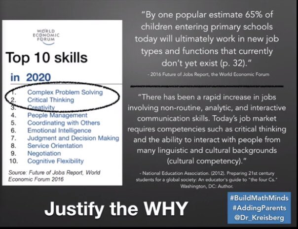 test Twitter Media - From @Dr_Kreisberg's presentation today in #BuildMathMinds summit... justifying the need for children to be able to problem solve. A lot of impactful evidence here. It was a great session. Thrilled to see so many people working on the same goal! • #addingparents https://t.co/Qn32F7JwCJ