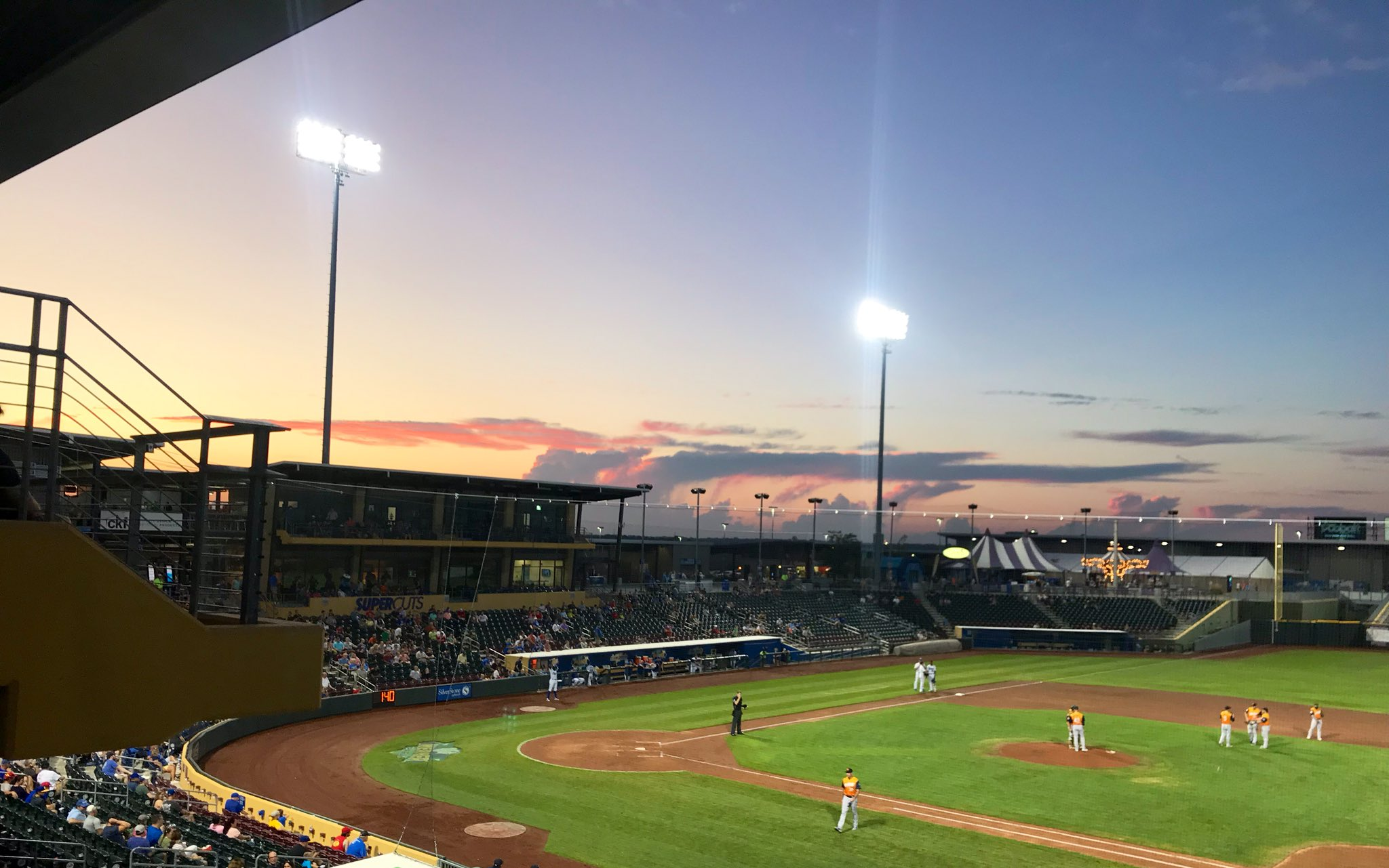 Nightly #BaseballSkies Appreciation Tweet 😍 https://t.co/Rz8hlajgDS