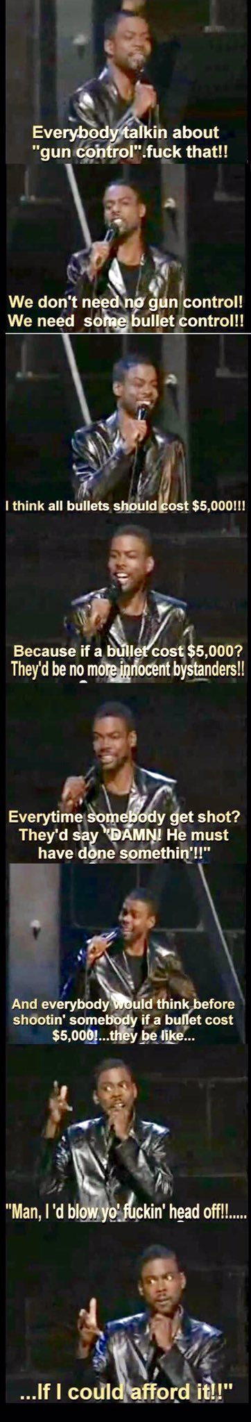 Man, Chris Rock makes more & more sense. In 1999, it was crazy talk, but maybe we could throw this against the wall... https://t.co/6jG1IxMx1S