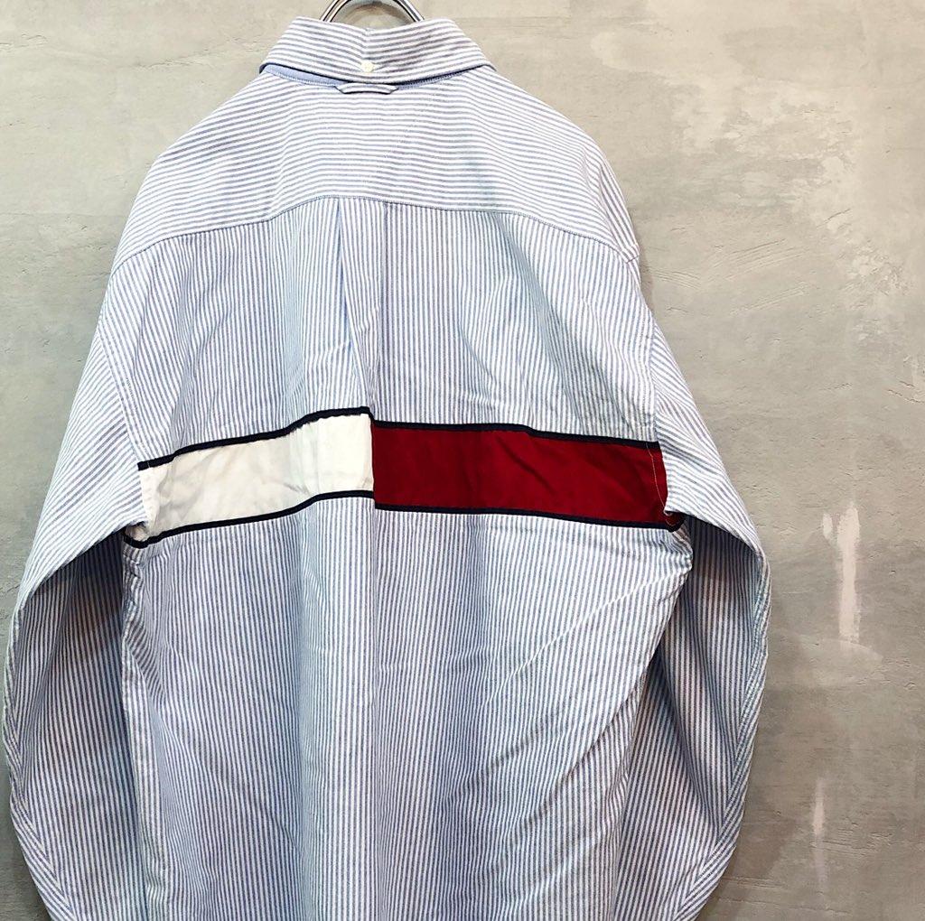 test ツイッターメディア - 店舗にて、 TOMMY の90'sシャツが大量入荷しました❗️ どれもイッテンモノですので、お探しの方はお早めに💨💨  #久留米 #福岡 #佐賀 #熊本 #大分 #古着 #古着屋 https://t.co/mUQxgSA2V7