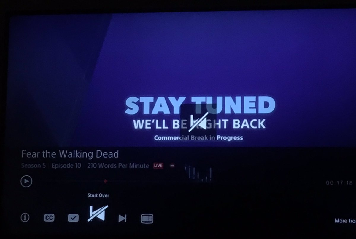 test Twitter Media - @PlayStation @AskPlayStation Vue is hurting me and won't let me start #FearTWD from the beginning #psvue #playstation #hurtingme https://t.co/GRbX3AvZuS