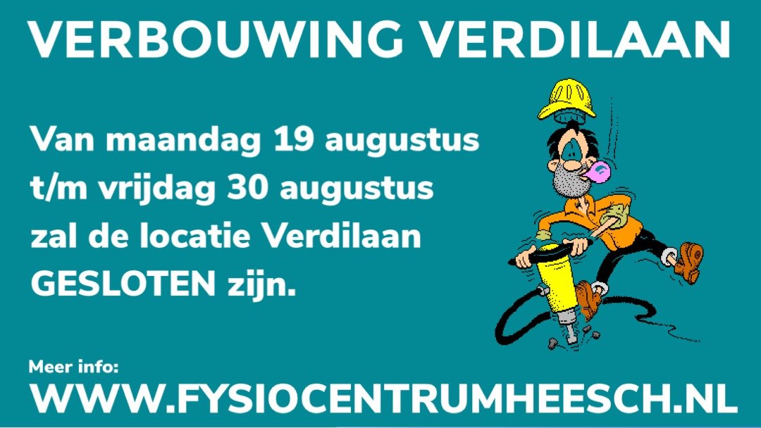 test Twitter Media - Verbouwing locatie verdilaan! Meer info: https://t.co/F4sVlBTdEy https://t.co/i4uRZHGxWs