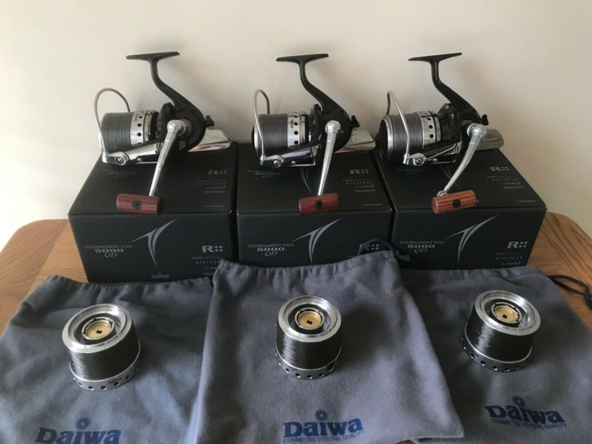 Ad - Daiwa Tournament ISO 5000 Reels On eBay here -->> https://t.co/Xx0fYcjVN2  #carpfishing h
