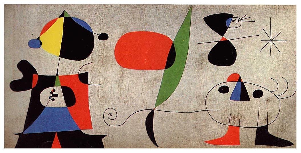 Joaquim Gomis (Mural), 1948 #miro #surrealism https://t.co/Biqll4N1cf