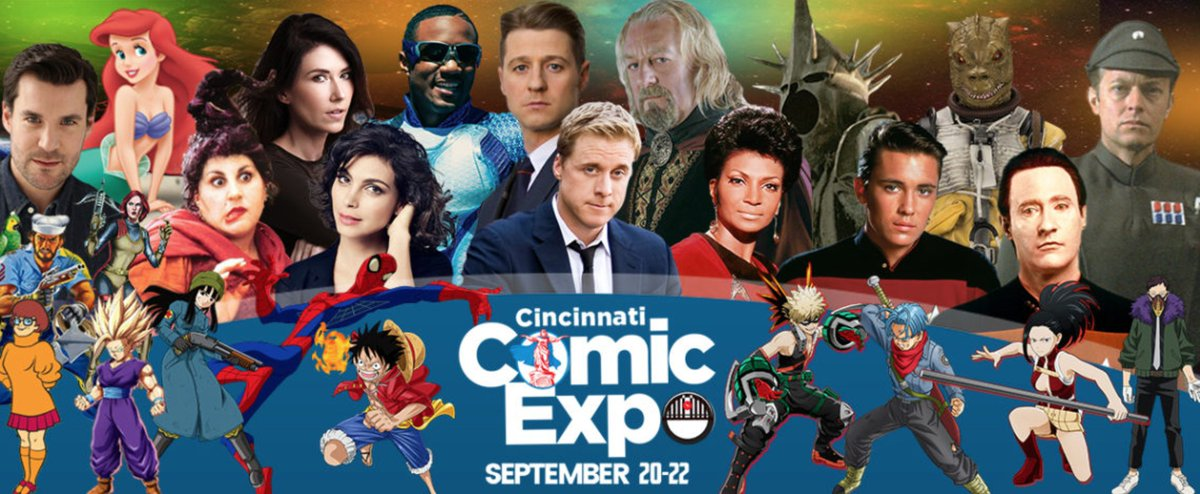 test Twitter Media - Just went to the @CinciComicExpo website and saw the pic on the main page. I'm FOUR of the characters you're looking at here. So that means you have to stop by my table 4 times, right? LOL! 😉 See you soon, Ohio! #OnePiece #DragonBallZKai #DragonBallSuper #MyHeroAcademia https://t.co/bkqtQ6VFKj