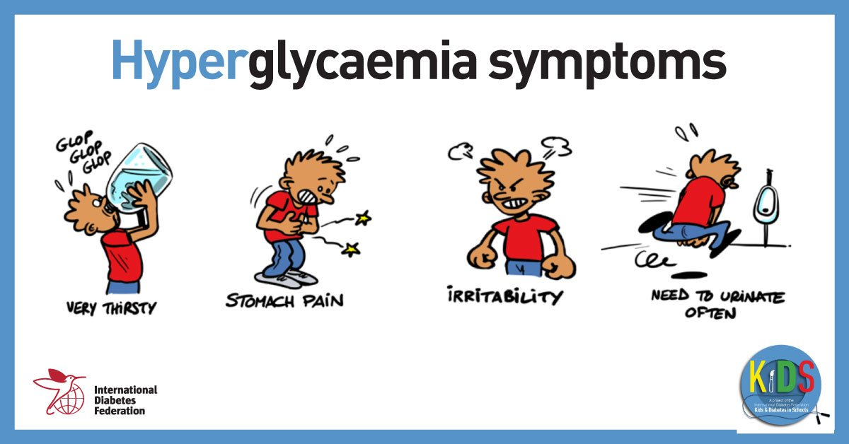 test Twitter Media - Hyperglycaemia is a common & serious complication of #diabetes characterised by high blood sugar levels. Learn more about the symptoms and how to cope in our #KiDS information pack: https://t.co/o2Q0khxReW https://t.co/t8CaXOFNWR