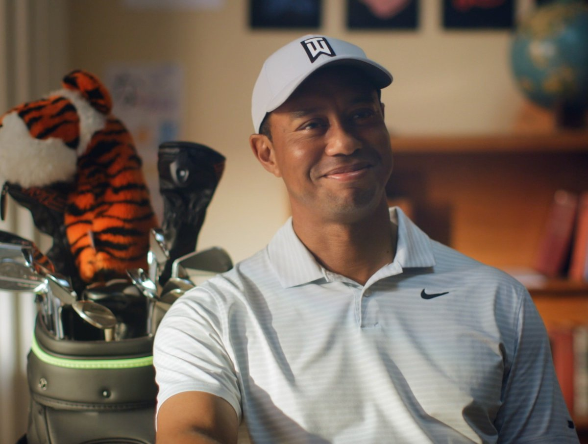 RT @TigerWoods: Little classroom time with Rory...