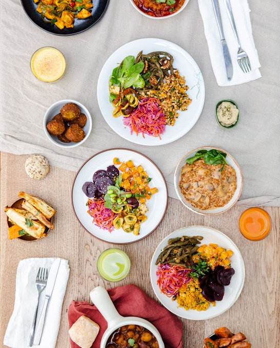 In need of some Monday Motivation? A veggie & vegan feast at ours should do the trick