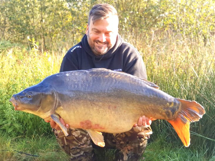 35lb on the nose, KARPER RS doing the damage again. #<b>Karper</b>ltd #carpfishing https://t.co/6b48