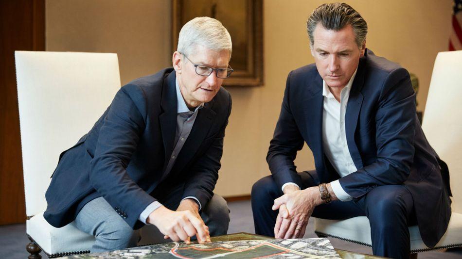 Apple announces .5 billion plan to ease California housing