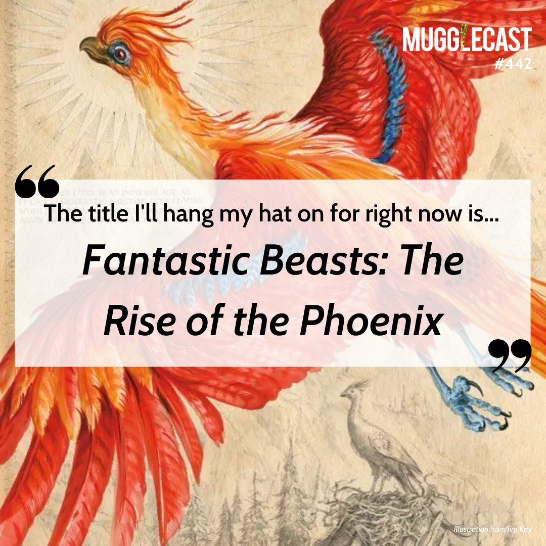 On the latest MuggleCast, we give our early predictions for the title of Fantastic Beasts 3! Micah has two ideas, but this one got our hosts the most excited. What do you think the title will be, if you had to guess today? 🔥  Listen now & let us know!