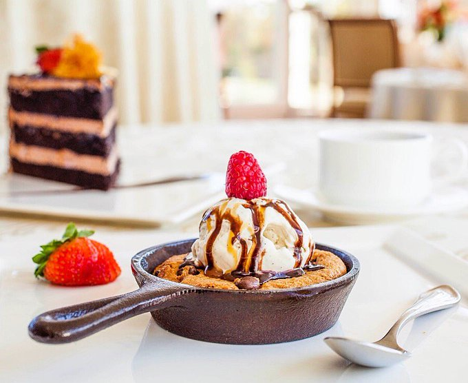 Friendly reminder that today is #NationalCookieDay 🍪 If you need us, we'll be celebrating with our own personal skillet baked to perfection at @TrumpBedminster #TrumpCookie