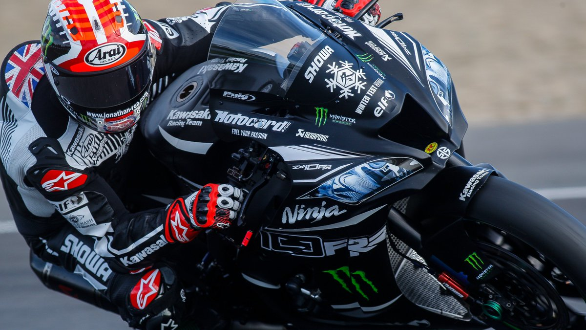 test Twitter Media - 💪🏻@jonathanrea beats @toprak_tr54 to top slot on day one of Jerez test  Just 0.019s split the two riders at the Jerez test, making for a close end to day one, whilst a mouth-watering prospect awaits on day two and for 2020!  📃REPORT | #WorldSBK https://t.co/Ba94OJB0wL https://t.co/2IeAq9cUHX