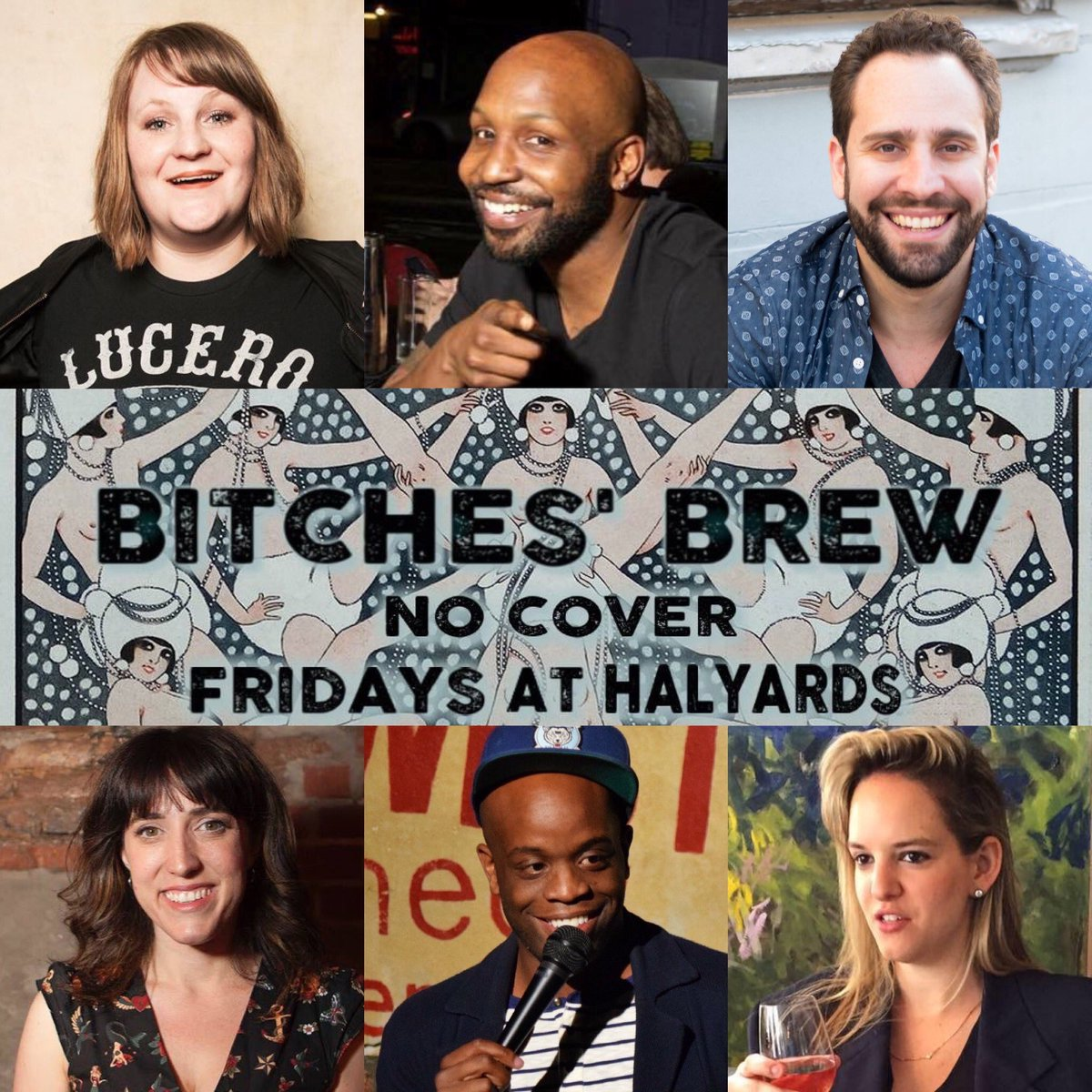 TNT 8:30 @HalyardsBar w @AlisonLeiby @amymiller @funnyphilduck @katewillett @KeenanSteiner @RellBattle @alyssawolff @Spericaa #free #comedy #bk @MurphGuideBK @thatsfunny