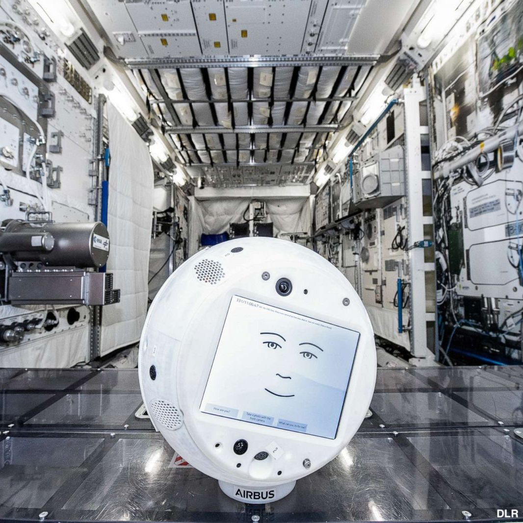 A friendly robot assistant with artificial intelligence technology is heading to the International Space Station to help astronauts with daily tasks—or if they just want someone to talk to while so far away from home.