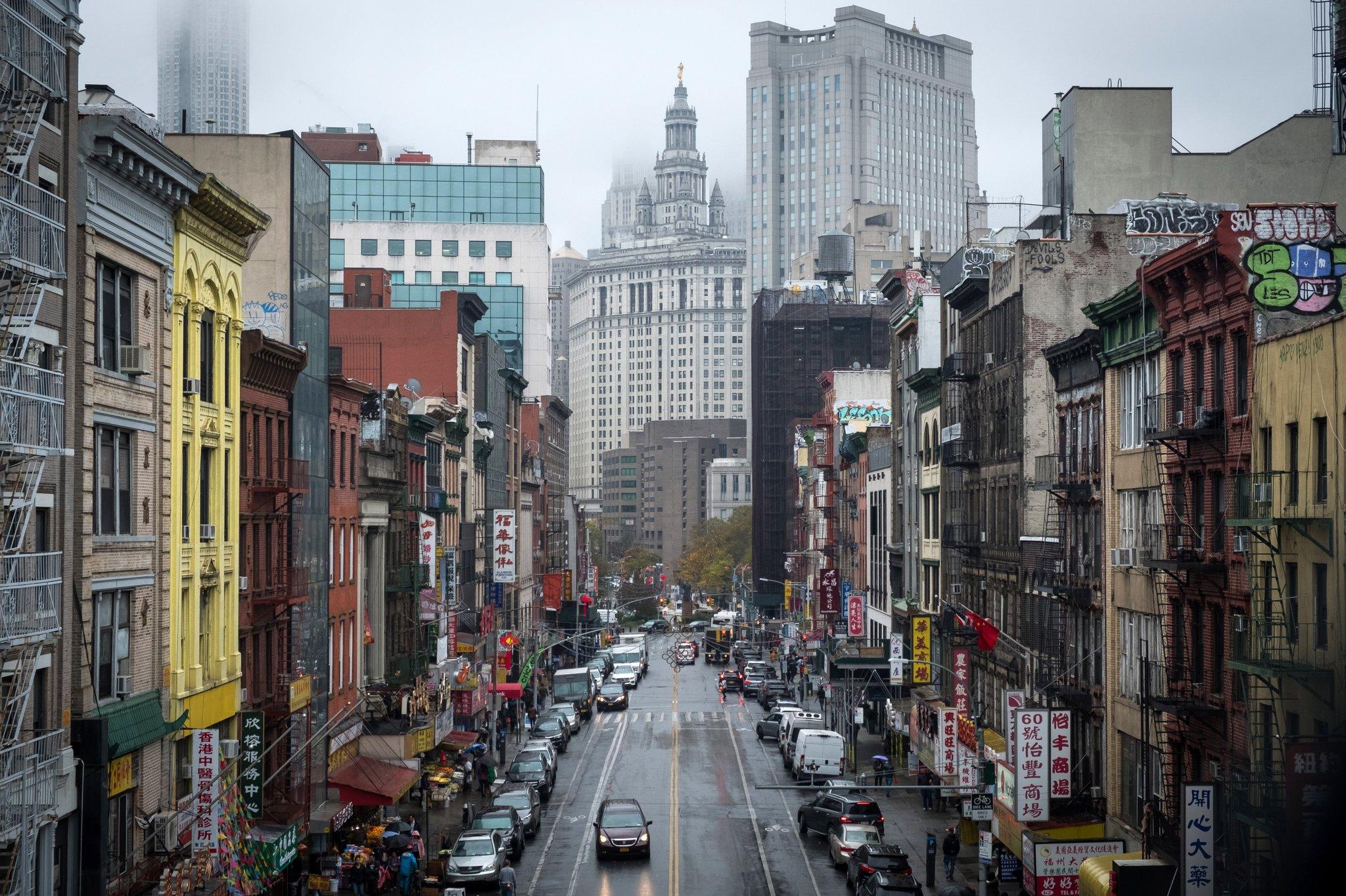 Rainy start to the week in New York City. https://t.co/BWSw4WiQ05