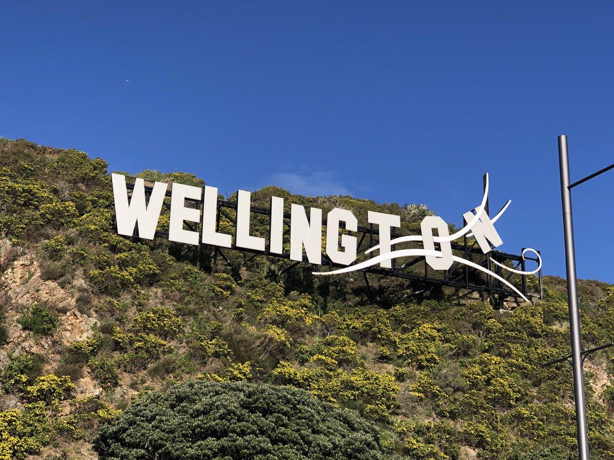 Kia ora Wellington and no surprises - yes it's windy #travel #slowtravel #Wellington #NewZealand