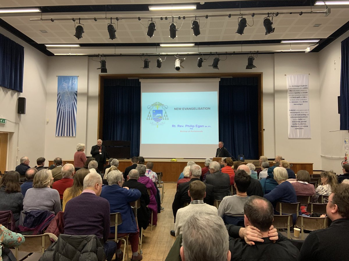 test Twitter Media - I was in Bury, Manchester last night to give a talk on 'New Evangelisation'. It was part of the Diocese of Salford Hope in the Future Formation Series. It was really well attended and people asked some great questions afterwards. https://t.co/c0dOl0ngAu