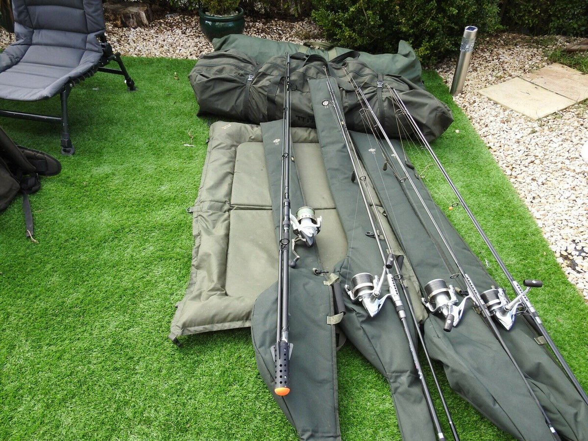 Ad - Full carp fishing <b>Set</b> up for sale On eBay here -->> https://t.co/7rtKd7Hjdr  #carp