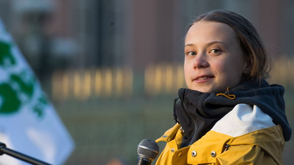 Greta Thunberg guarantees you won't forget this