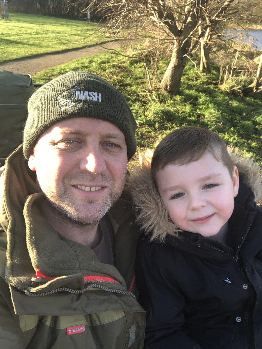 Dad & lad on the bank this afternoon #Nash #Trakker #fishing #carp #carpfishing #<b>Blank</b>ers
